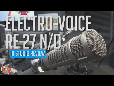 INDUSTRY WORK HORSE | Electro Voice RE27 N/D |  Best Broadcast and Podcast Mic?