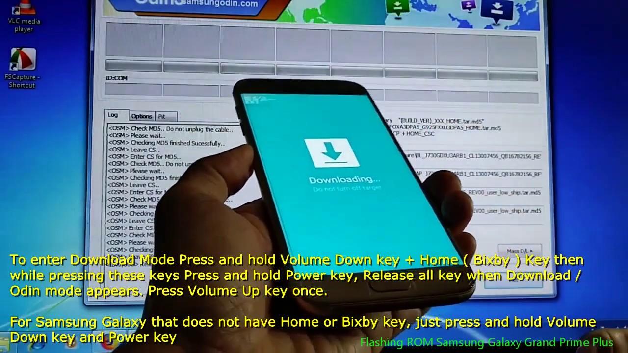 Flashing ROM Samsung Galaxy Grand Prime Plus