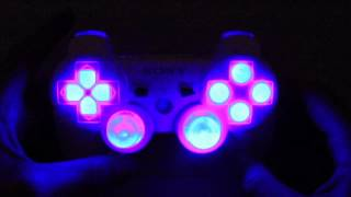 MrModz: PS3 Modded Controller with LED Button Patters, MasterMod, LED Dpad, LED Thumbsticks,(BUY IT HERE: http://www.MrModz.com Our Website: http://www.MrModz.com This controller is a white sony PS3 modded controller with LED buttons, LED Dpad, ..., 2012-06-24T07:13:16.000Z)