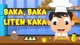 Barnsånger på svenska | Baka, baka liten kaka med mera