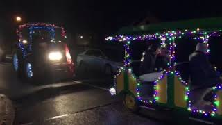 Christmas tractors hit the road in Abbeyshrule Co. Longford