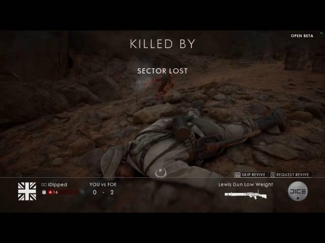 #02 Battlefield 1 matadas epicas