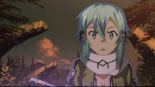 Sword Art Online II - Kirito deflects bullets in GGO