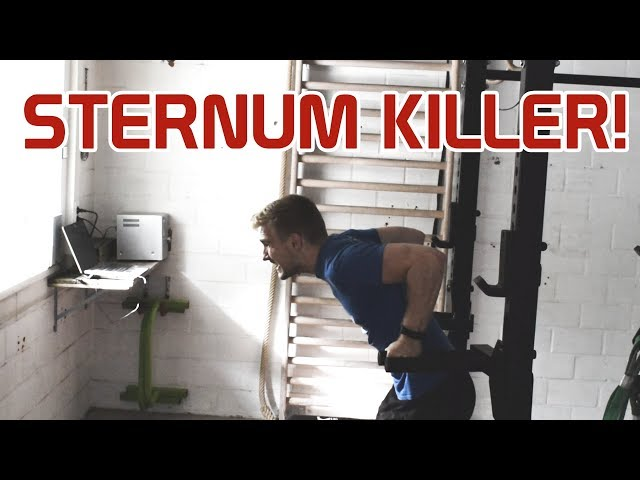 Should you do Dips with Sternum Pain???