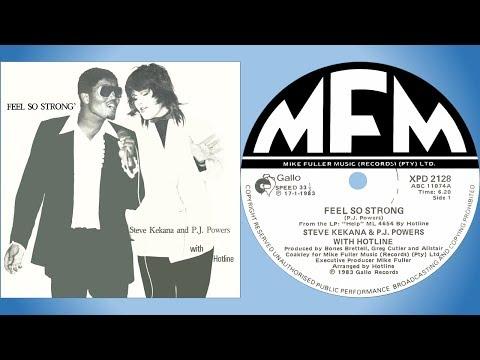 Steve Kekana & PJ Powers with Hotline - Feel so strong (12'' version)