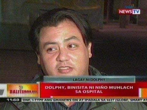 BT: Dolphy, binisita ni Niño Mulach sa ospital