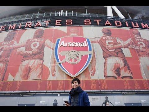 Antragama's VOURNAL #5: Arsenal Emirates Stadium | Tour