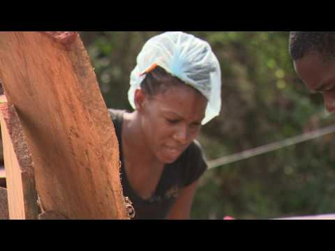Empowered Woman - Jamaican Wood Designer and Female Carpenter Lacey-Ann Bartley