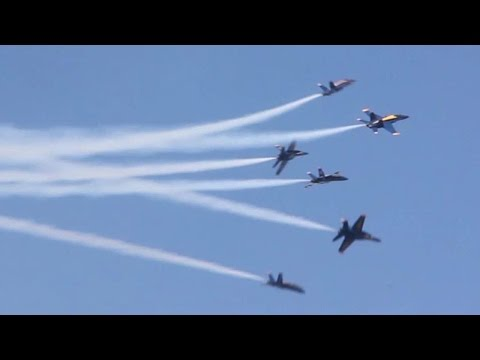 Navy Blue Angels Air Show - San Francisco Fleet Week