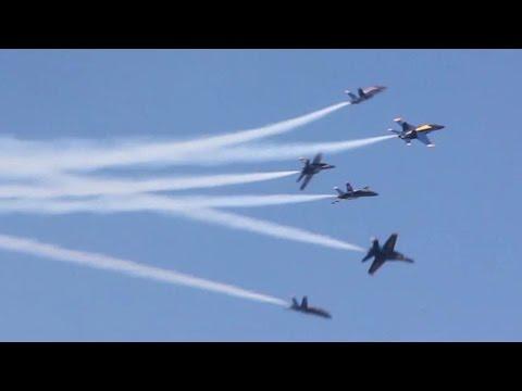 Navy Blue Angels Air Show - San Francisco Fleet Week