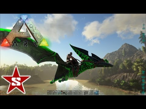 ARK: Procedurally generated map exploration and name my Poison Pteranadon