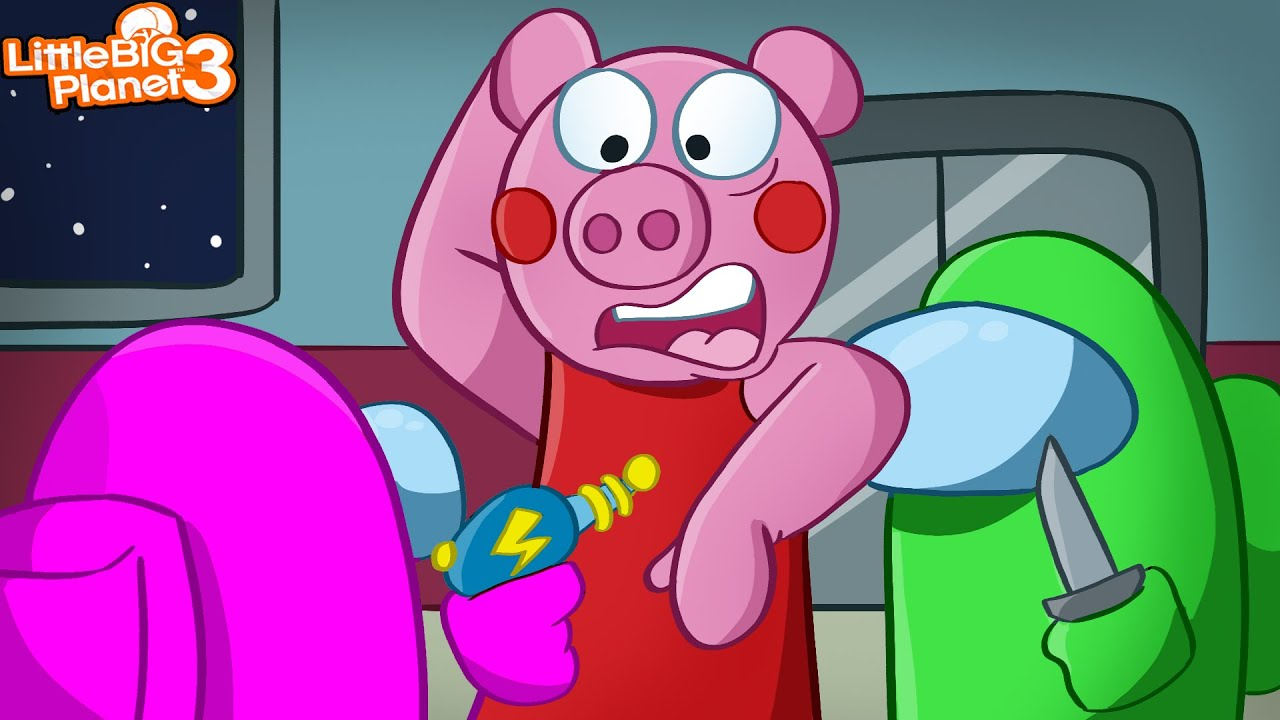 Among Us vs Piggy | LittleBigPlanet 3