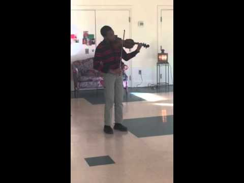 Joshua Forbes Christmas song with viola
