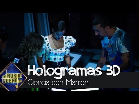 Inma Cuesta y Mafalda Carbonell flipan con los hologramas 3D de Voxon  Photonics - El Hormiguero 3 0
