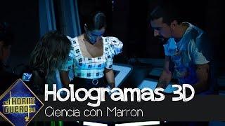 Inma Cuesta y Mafalda Carbonell flipan con los hologramas 3D de Voxon Photonics - El Hormiguero 3.0
