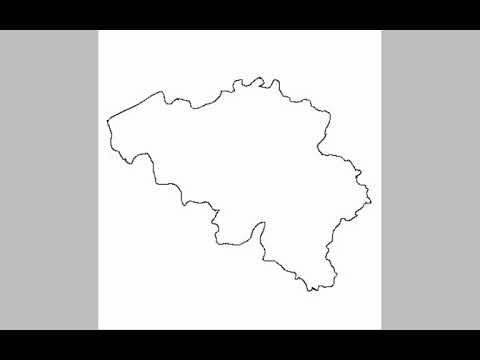 Belgum map flag speeddraw YouTube
