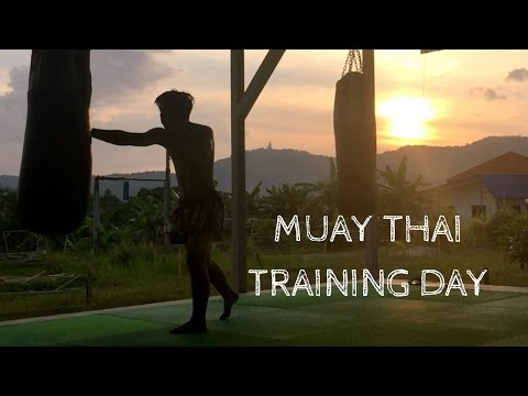 MUAY THAI Training Day in Thailand | Phuket Vlog