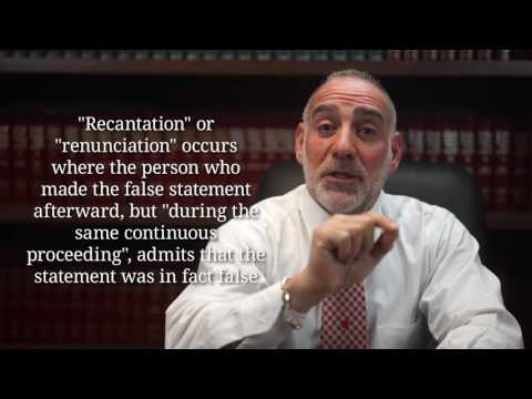 (169) Are there any Defenses to a Perjury Charge? - Michael Haber Miami Criminal Defense DUI Lawyer