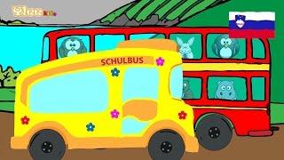 Kolesa avtobusa se vrte - Večjezični MIX - Yleekids Slovensko