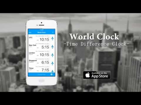 World Clock-Time Difference Clock-【世界時差時計】