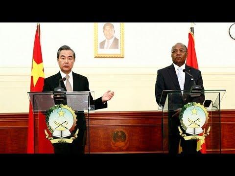 Angola-China - Conferência de Imprensa dos Chefes de Diplomacias, 14.01.2018