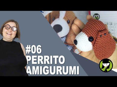 PERRITO AMIGURUMI 6 tutorial paso a paso