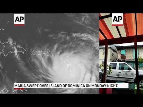 Category 5 Hurricane Maria Menaces Caribbean
