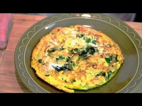 Spinach & Ricotta Fritatta : Breakfast Recipes Using Ricotta Cheese
