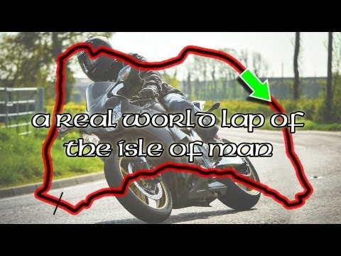 The Isle Of Man (IOMTT): Corner Guide (slow) and Scenery