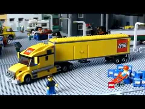 Ongekend lego city classic truck 3221 - YouTube SH-27