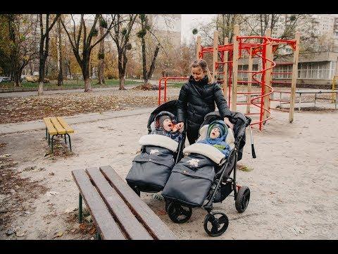 Благотворительный фонд Оксаны Марченко помогает стать на ноги двойняшкам с ДЦП