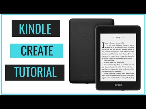 How To Format Your EBook For Kindle - Kindle Create Tutorial