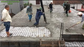 How To Build A Roof With Concrete Factory - New Innovative Roof Construction Technology