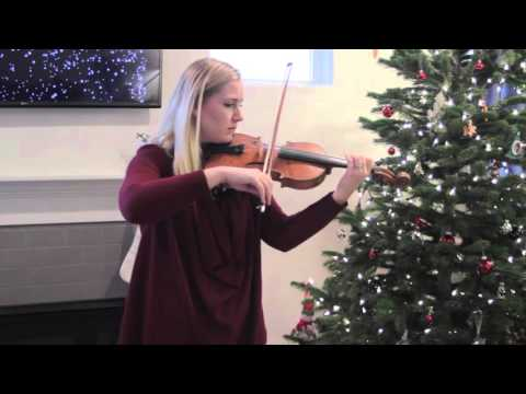 Mary Did You Know - Violin Cover - Abigail Buckingham Music
