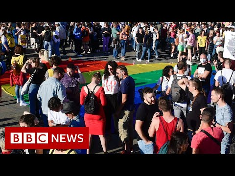 LGBT Content aimed at children to be banned in Hungary - BBC