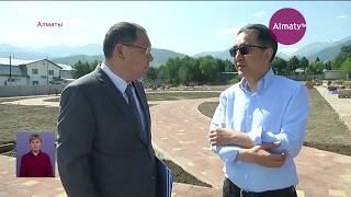 Бакытжан Сагинтаев проинспектировал состояние моренных озер близ Алматы (19.07.19)