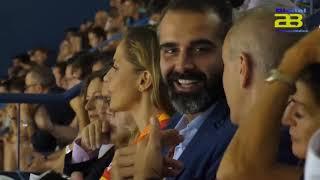 Las Guerreras vencen a Grecia en  el Pabellón de los Juegos Mediterráneos,  un fortín inexpugnable