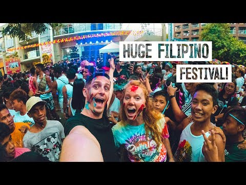 We Went to a CRAZY Festival in The Philippines! - SINULOG 2020