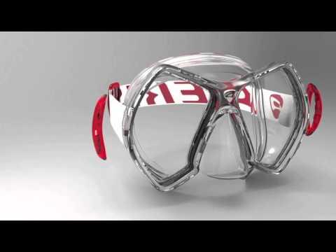AERIS Cyanea Micro Frame Mask Preview