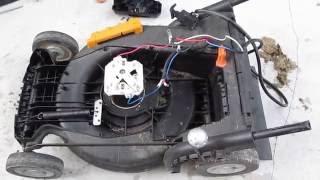 Teardown: Worx 24V cordless lawn mower. What's inside?