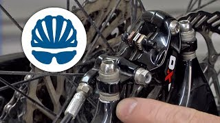 How to align disc brake