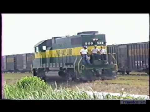 Classic Railroad Series 494 - Atlanta & St. Andrews Bay at Panama City, FL. May 9, 1988.