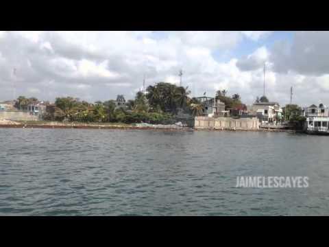 the tourist port of les Cayes Haiti