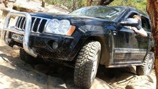 Jeep Grand Cherokee WK HEMI @ Wheeny Creek