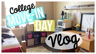 My College Move-In Day! | Vlog