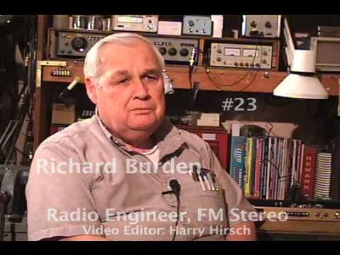AES Oral History 023: Richard Burden