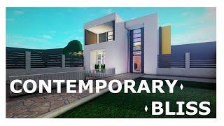 Contemporary Bliss ~ Modern House Build [ROBLOX: Bloxburg]