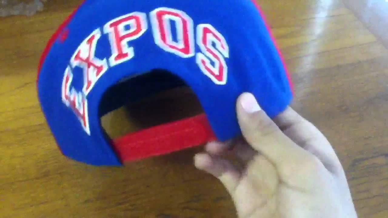 Expos Snapback - YouTube b6100f8bb01