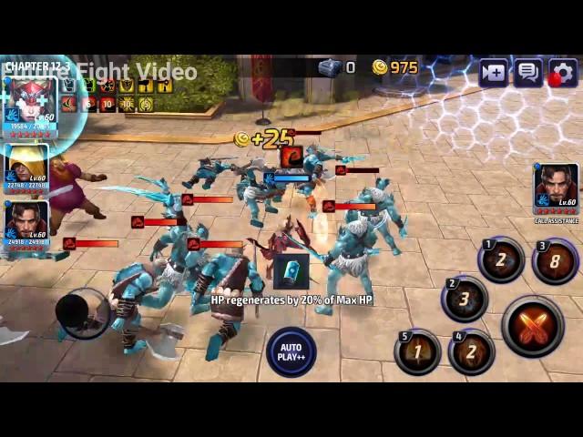 Marvel Future Fight - Story Mission 12-3 (Ymir Boss)