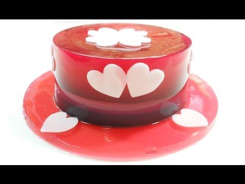 วิธีทำวุ้นเค้กหมวกคริสต์มาส - How to make Christmas Hat Jelly Cake | วุ้นแฟนซี